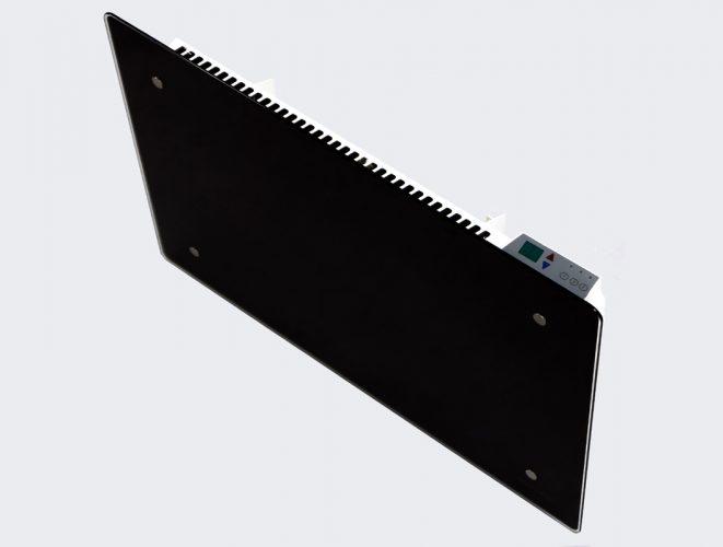 Grzejnik elektryczny ADAX CLEA CP 1000W 790x420x90mm wiszący ze szklanym panelem przednim