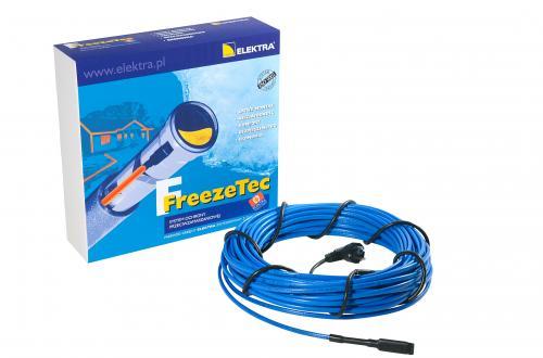 Kabel grzewczy do rur ELEKTRA FreezeTec 10m 120W z wtyczką