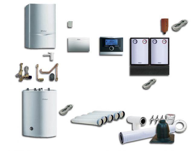 Energooszczędna kotłownia Vaillant easyBOX dla domu do 220m2 i 4 osób