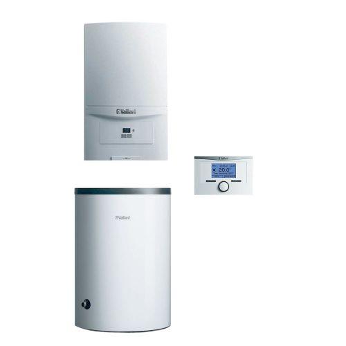 Pakiet Vaillant piec ecoTEC Pure 7,2-20,1kW z zasobnikiem 120L regulator pokojowy